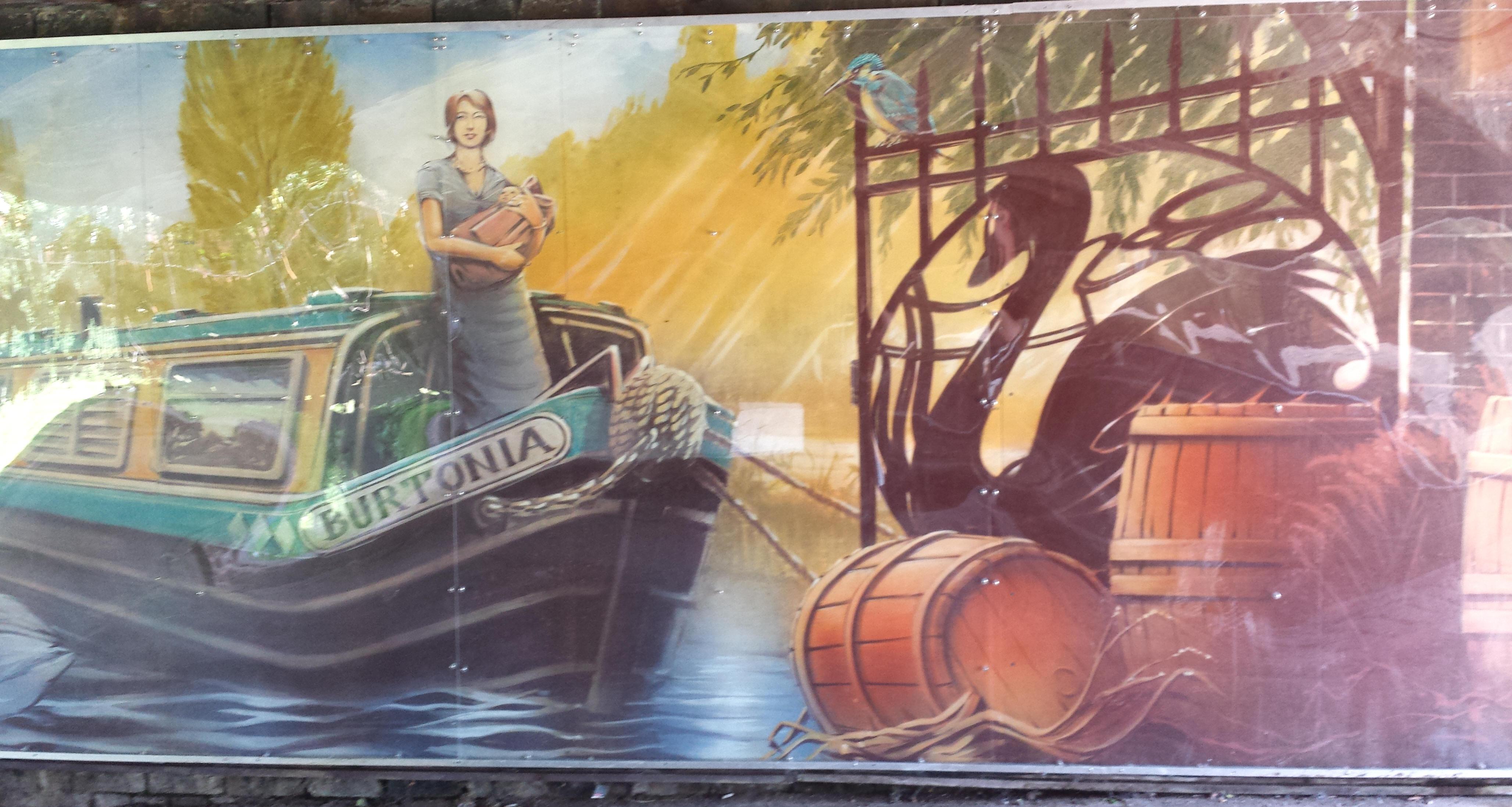 Dallow Lock Mural