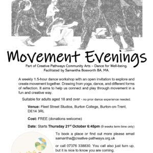 Movement Evening flyer
